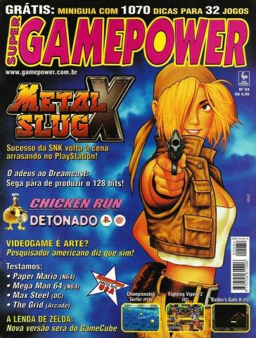 SuperGamePower Issue 084 (March 2001)