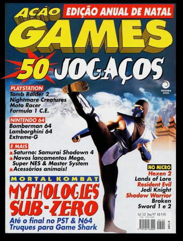 Acao Games Issue 122 (December 1997)