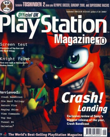 Official UK PlayStation Magazine Issue 010 (September 1996)