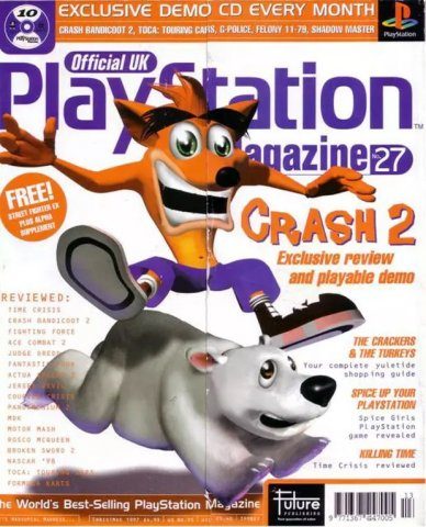 Official UK PlayStation Magazine Issue 027 (Christmas 1997)