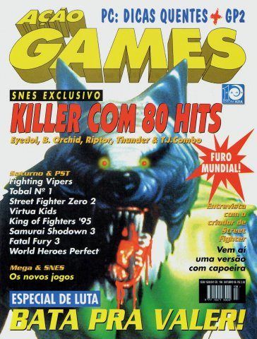 Acao Games Issue 108 (October 1996)