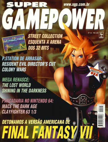 SuperGamePower Issue 044 (November 1997)