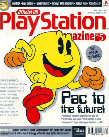 Official UK PlayStation Magazine Issue 005 (April 1996)