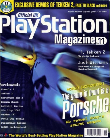 Official UK PlayStation Magazine Issue 011 (October 1996)