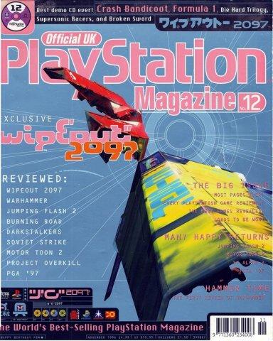 Official UK PlayStation Magazine Issue 012 (November 1996)