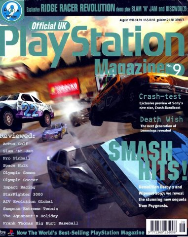 Official UK PlayStation Magazine Issue 009 (August 1996)