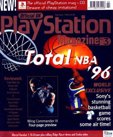 Official UK PlayStation Magazine Issue 003 (February 1996)