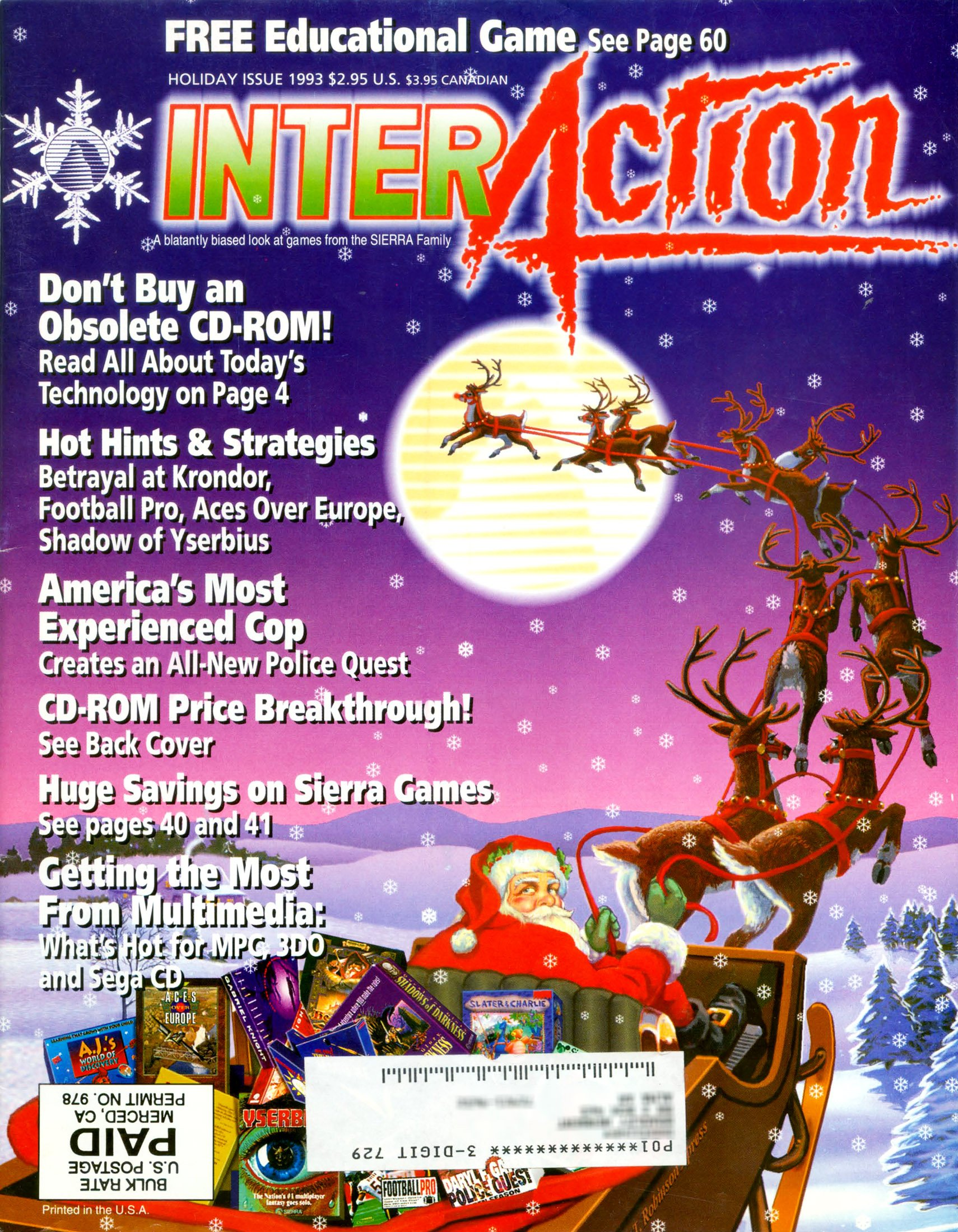 InterAction Issue 19 (Volume 6 Number 3) Holiday 1993