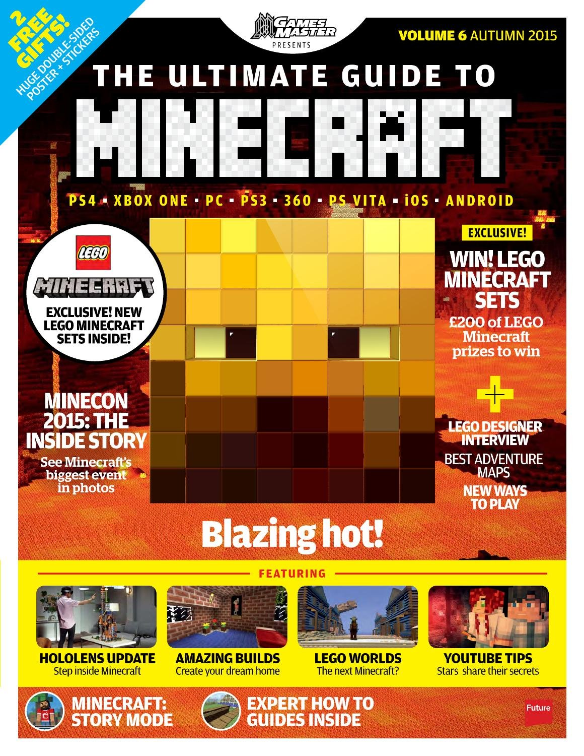 GamesMaster Presents: The Ultimate Guide to Minecraft Vol.06 (Autumn 2015)