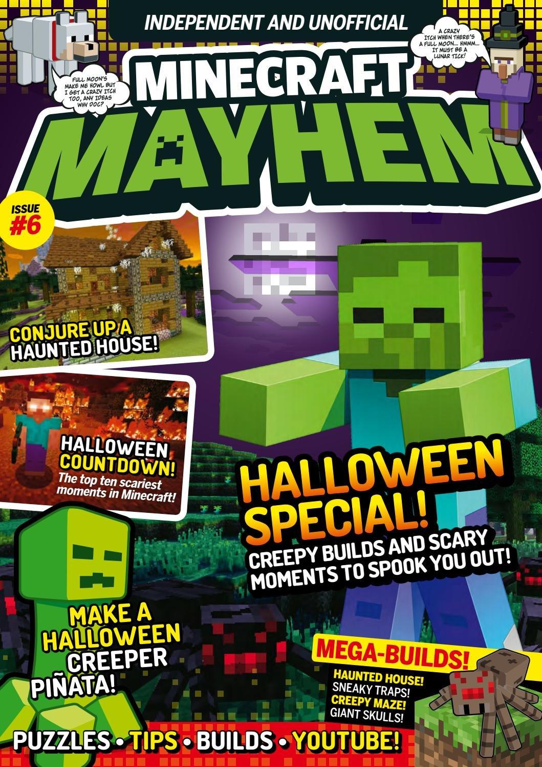 Minecraft Mayhem Issue 06 (October 2016)