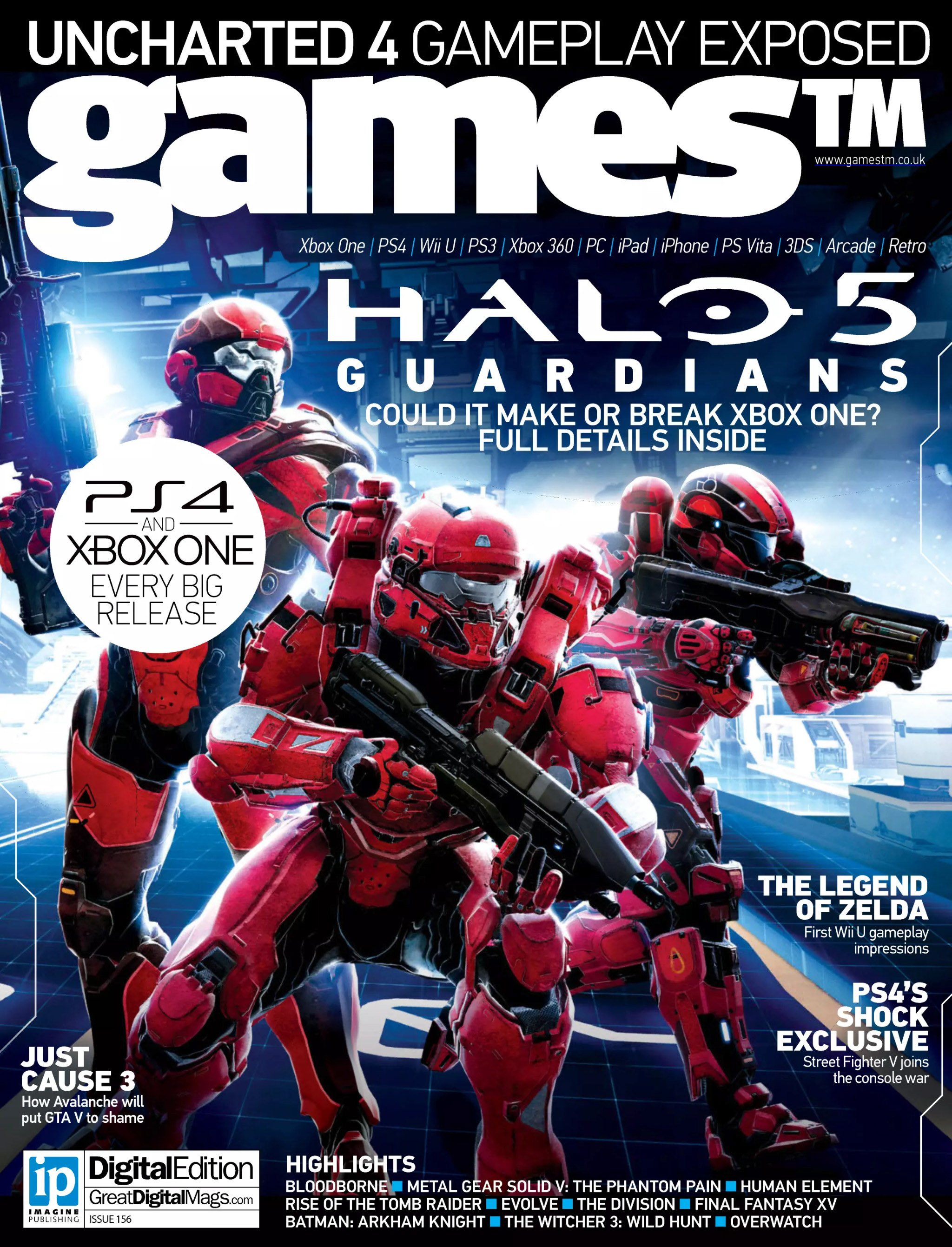 Games TM Issue 156 (Christmas 2014)