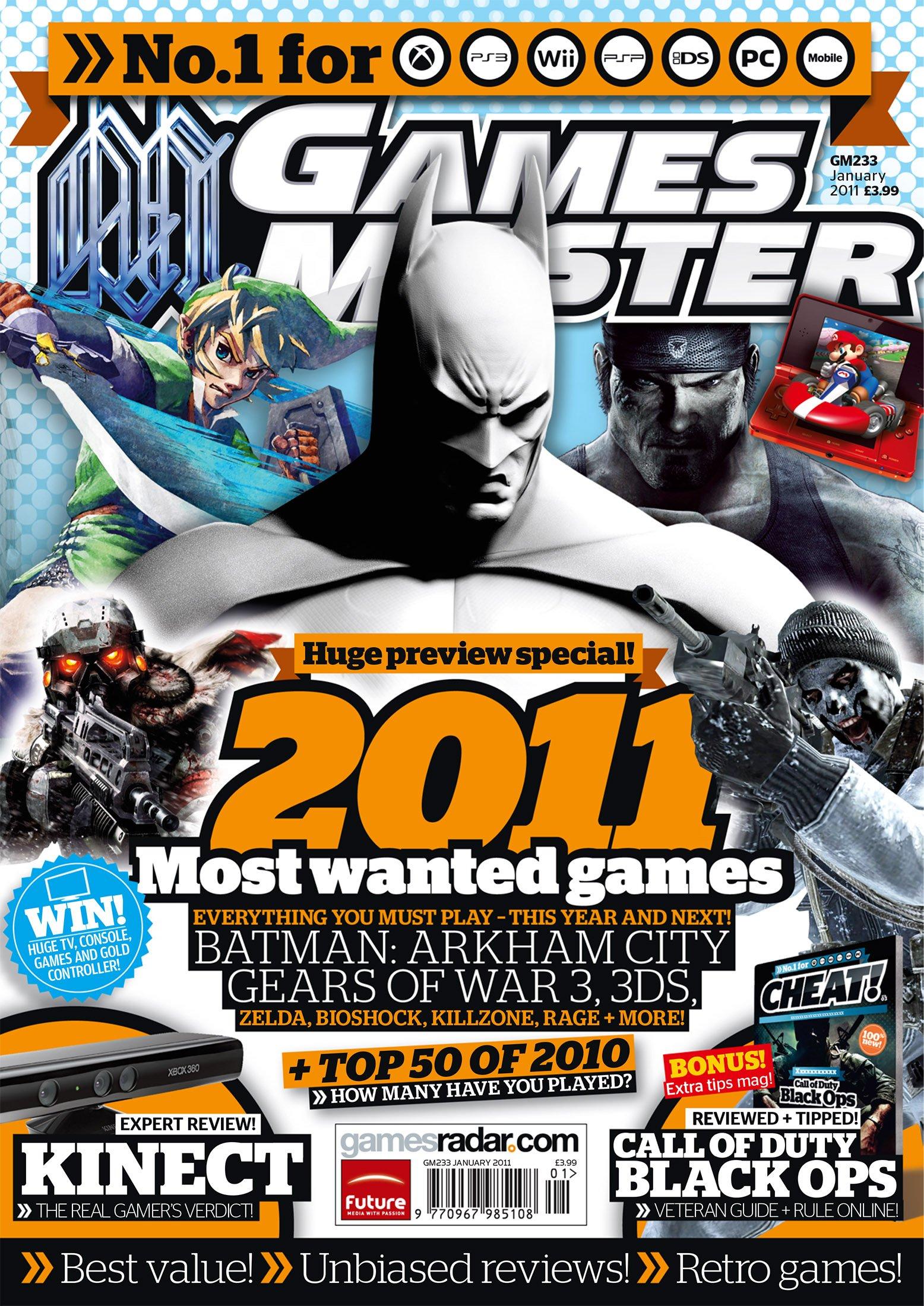 GamesMaster Issue 233 (January 2011)