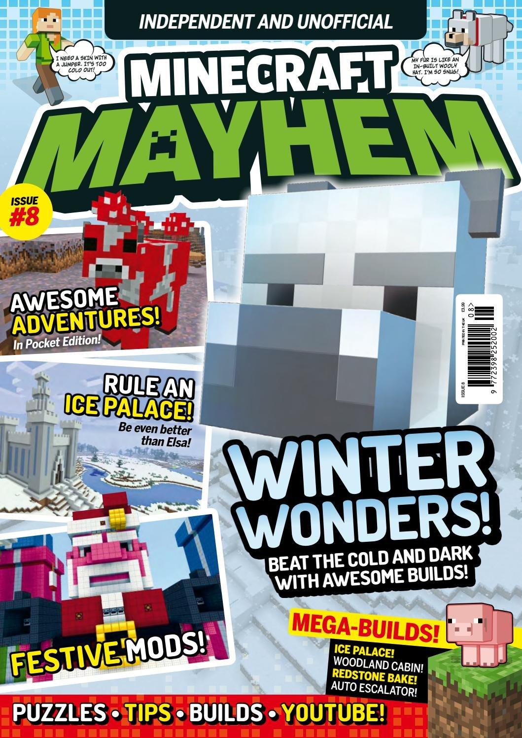 Minecraft Mayhem Issue 08 (December 2016)