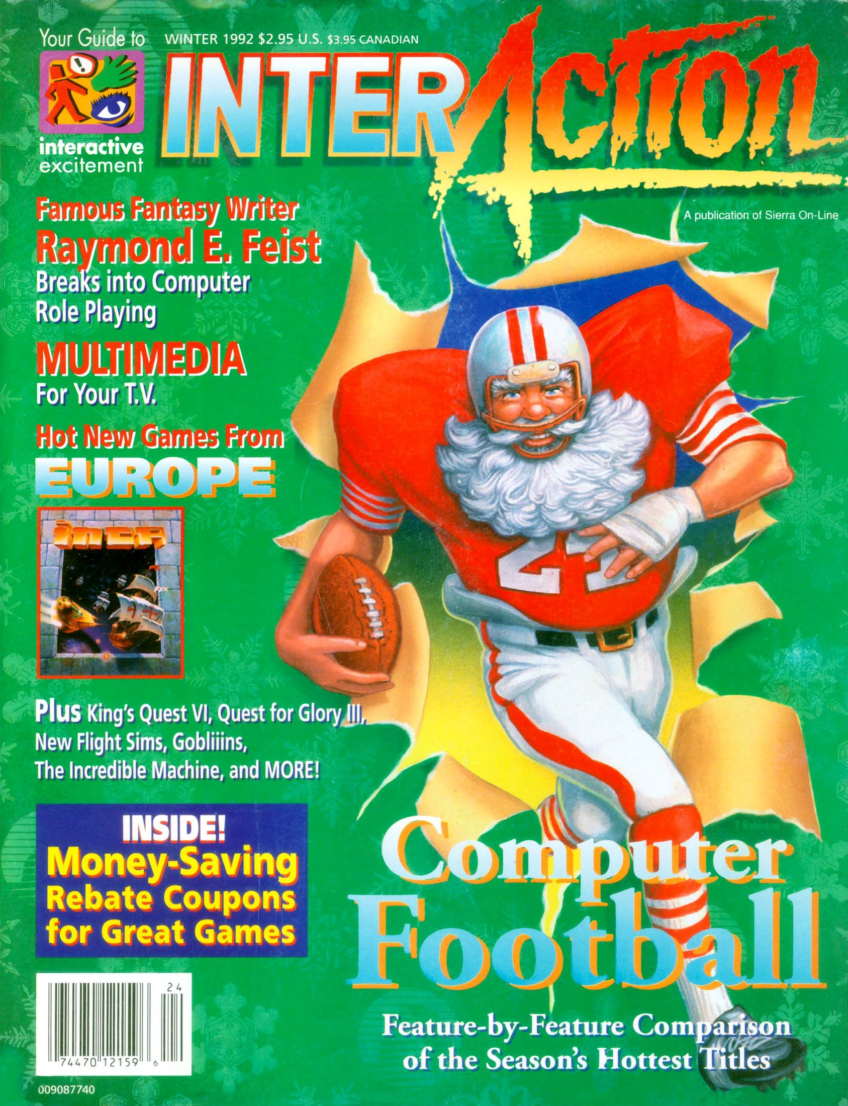 InterAction Issue 16 (Volume 5 Number 4) Winter 1992