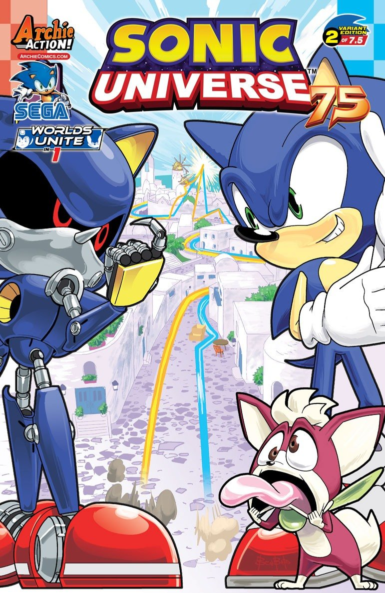 Sonic Universe 075 (June 2015) (variant 2)