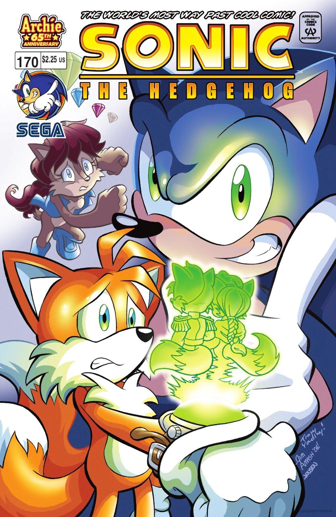 Sonic the Hedgehog 170 (February 2007)