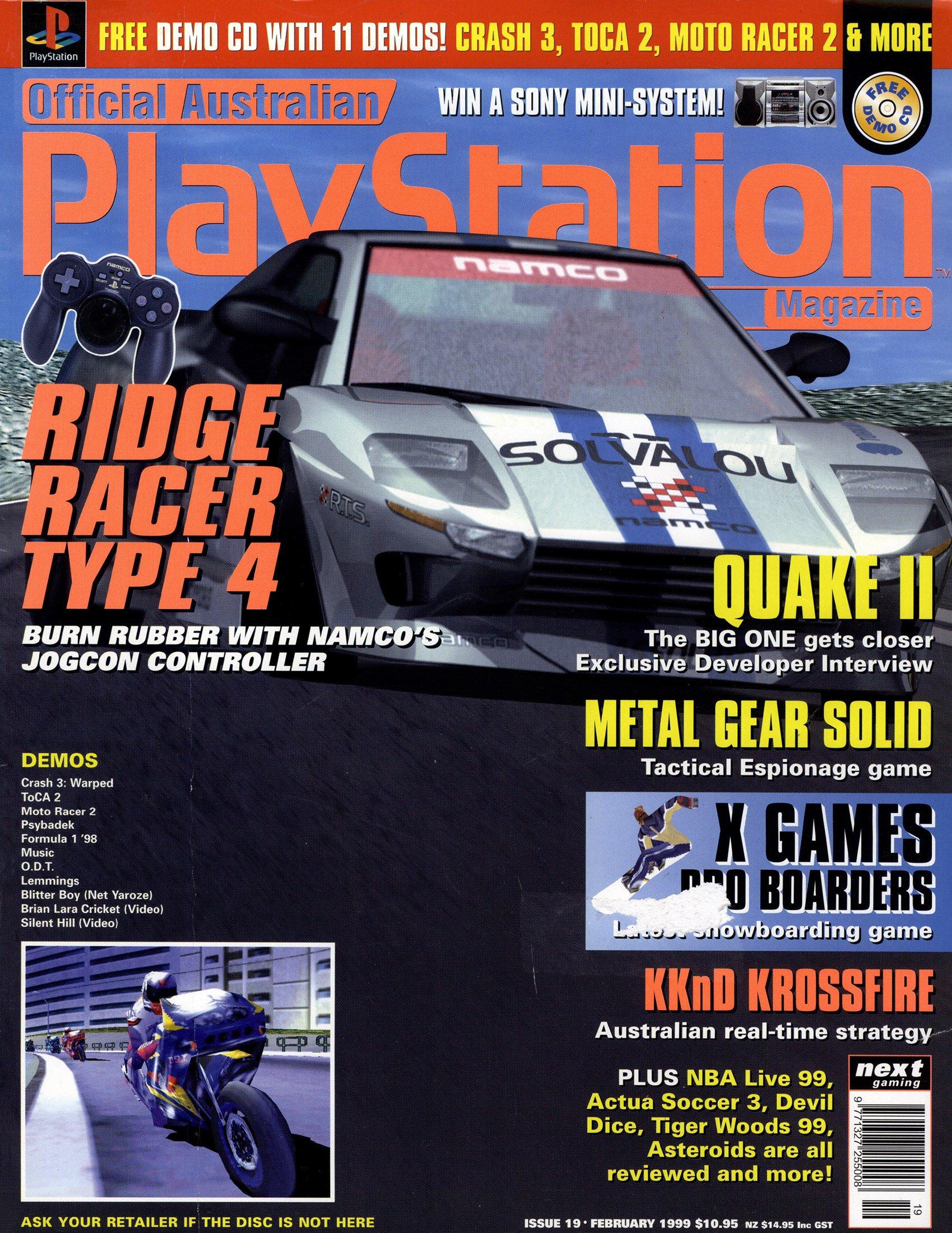 Official Australian PlayStation Magazine 019 (February 1999)