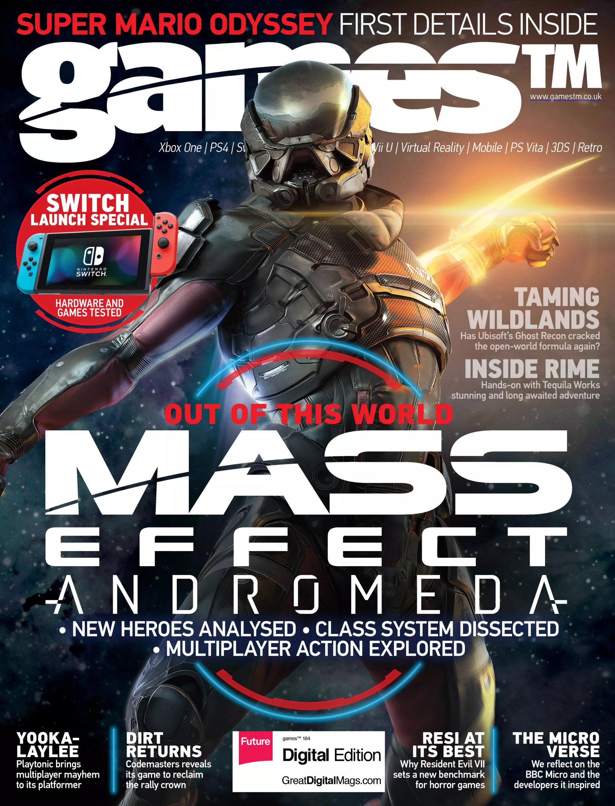 Games TM Issue 184 (February 2017)