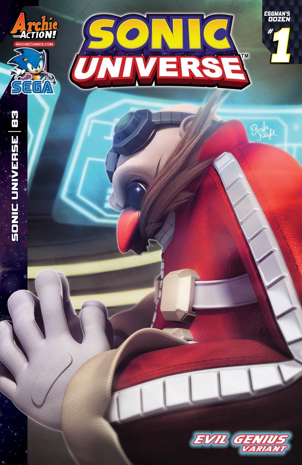 Sonic Universe 083 (May 2016) (Evil Genius variant)
