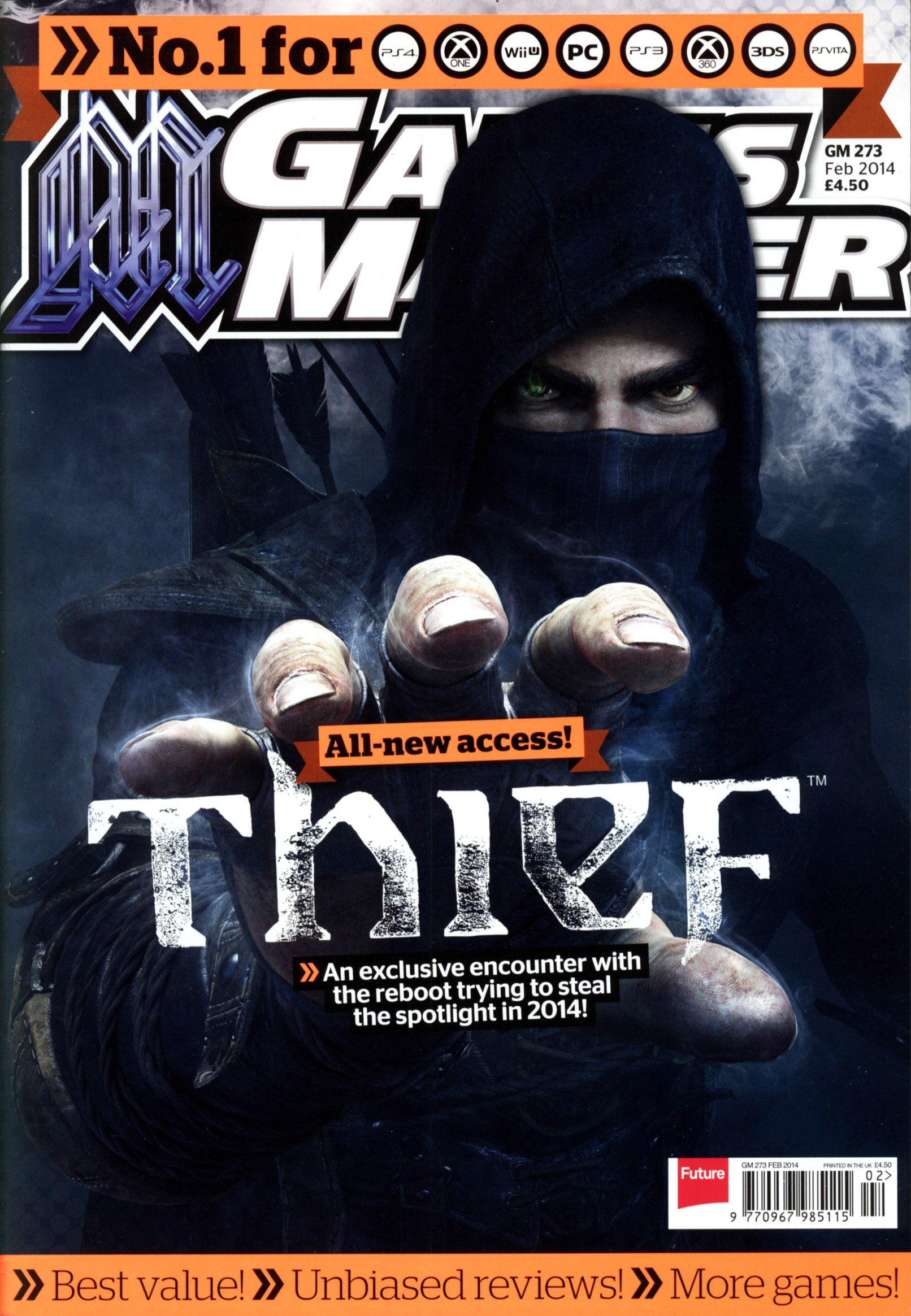 GamesMaster Issue 273 (February 2014) (print edition)