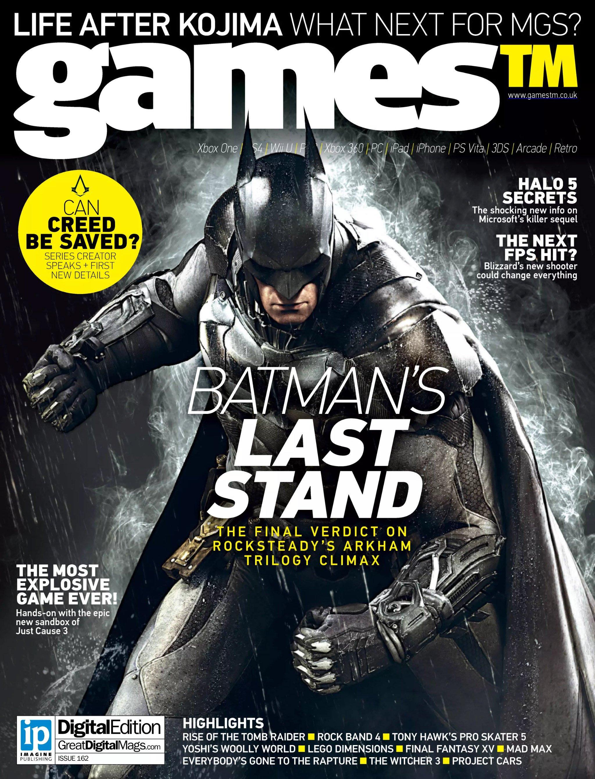 Games TM Issue 162 (June 2015)