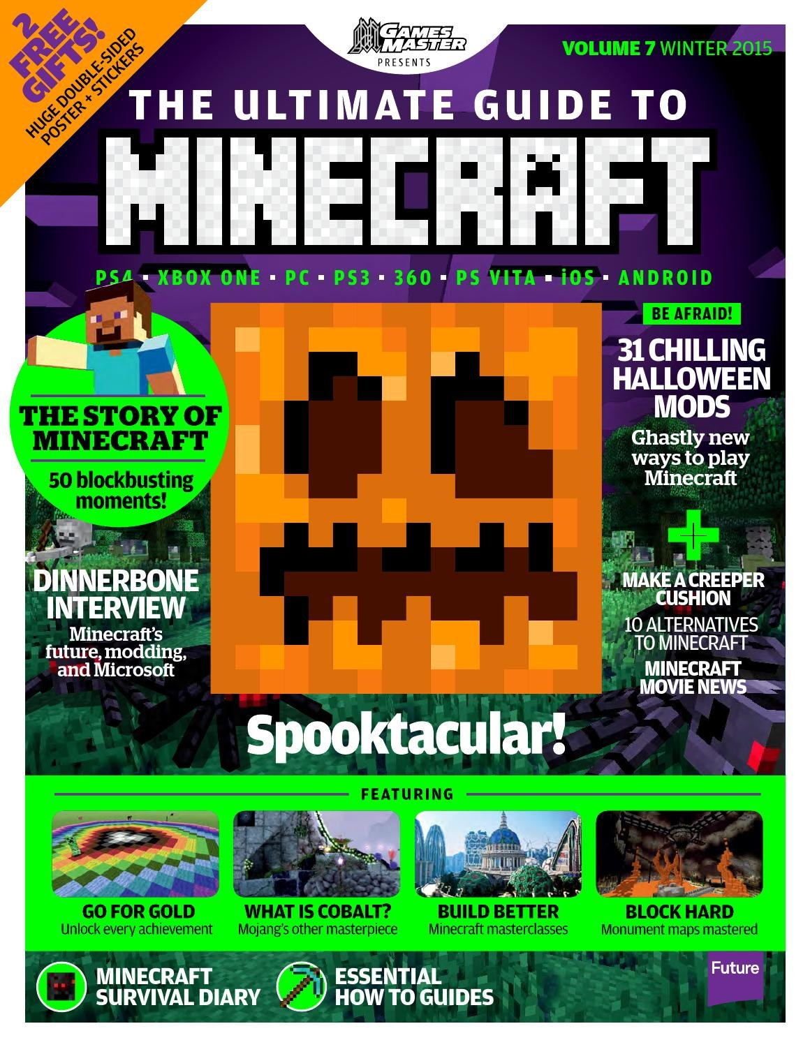 GamesMaster Presents: The Ultimate Guide to Minecraft Vol.07 (Winter 2015)