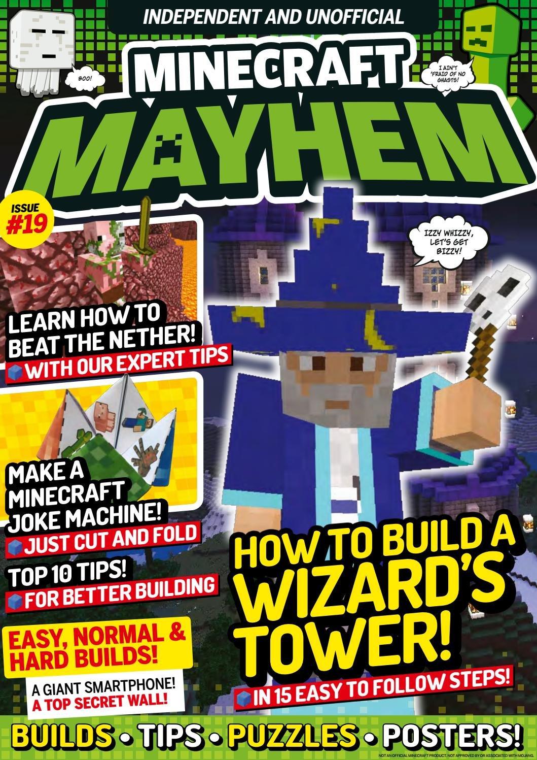 Minecraft Mayhem Issue 19 (October 2017)