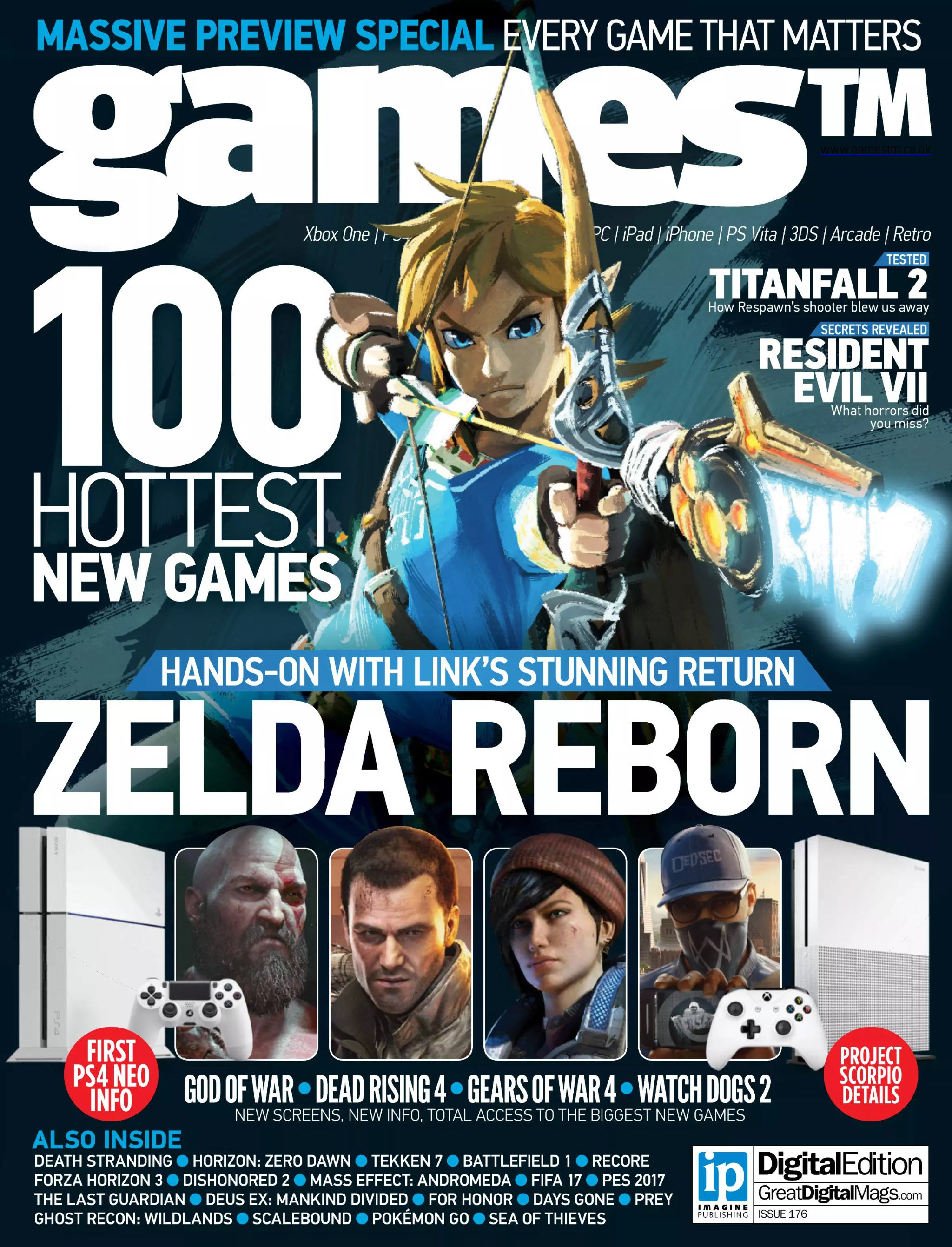 Games TM Issue 176 (July 2016)