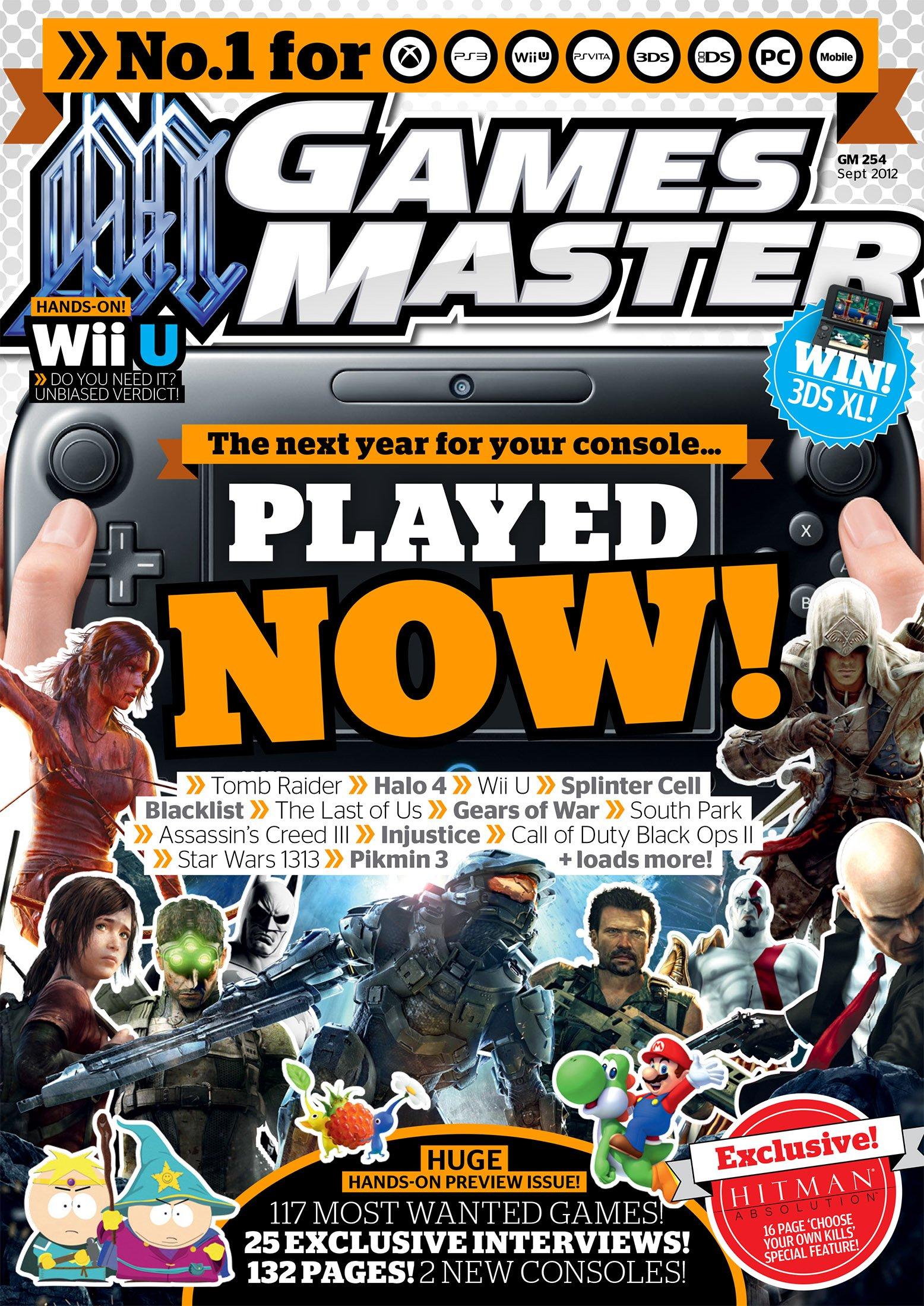 GamesMaster Issue 254 (September 2012)