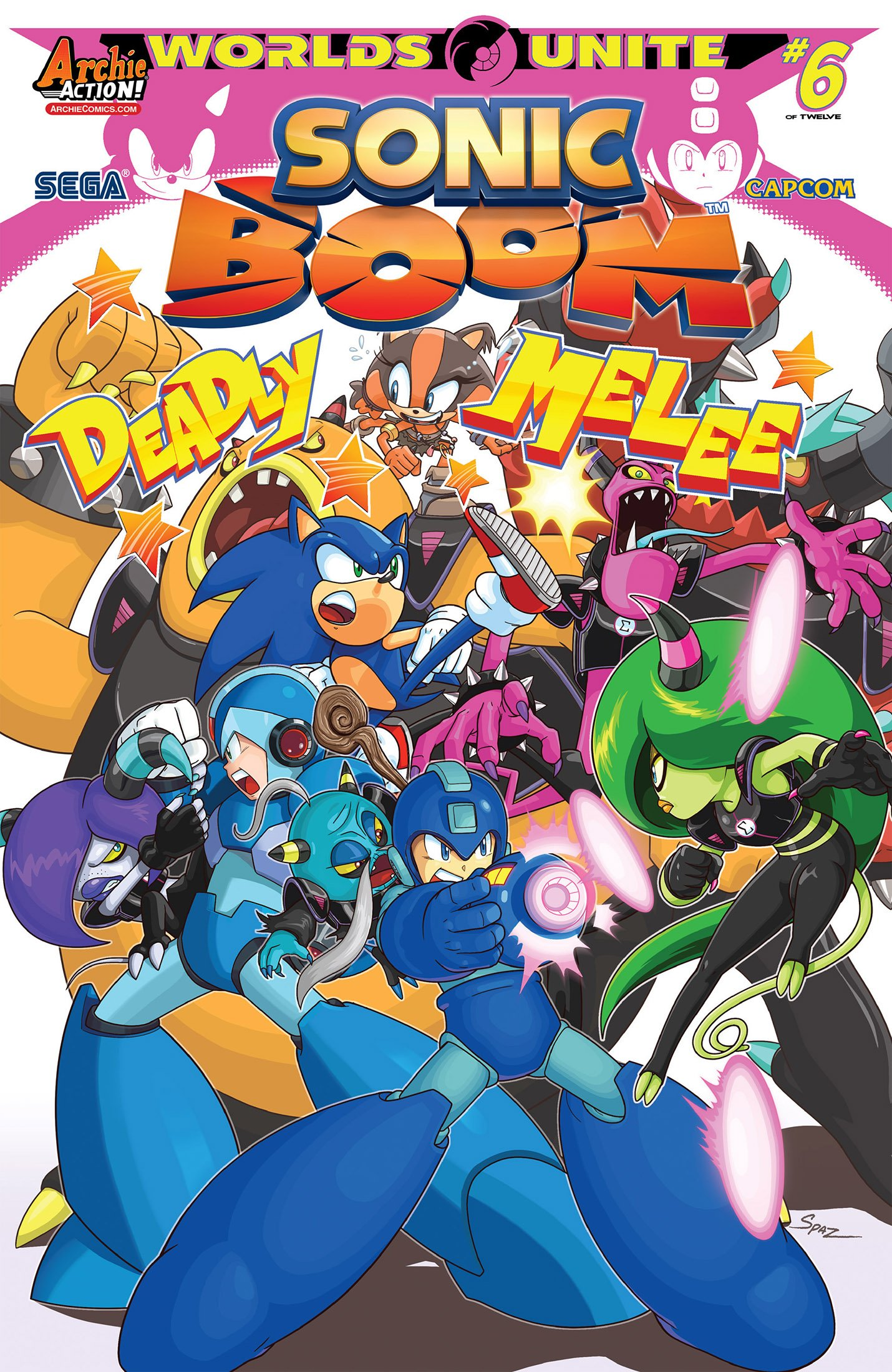 Sonic Boom 009 (August 2015)