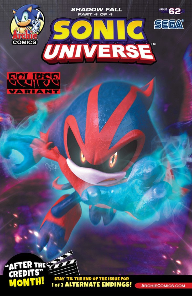 Sonic Universe 062 (May 2014) (Eclipse variant)