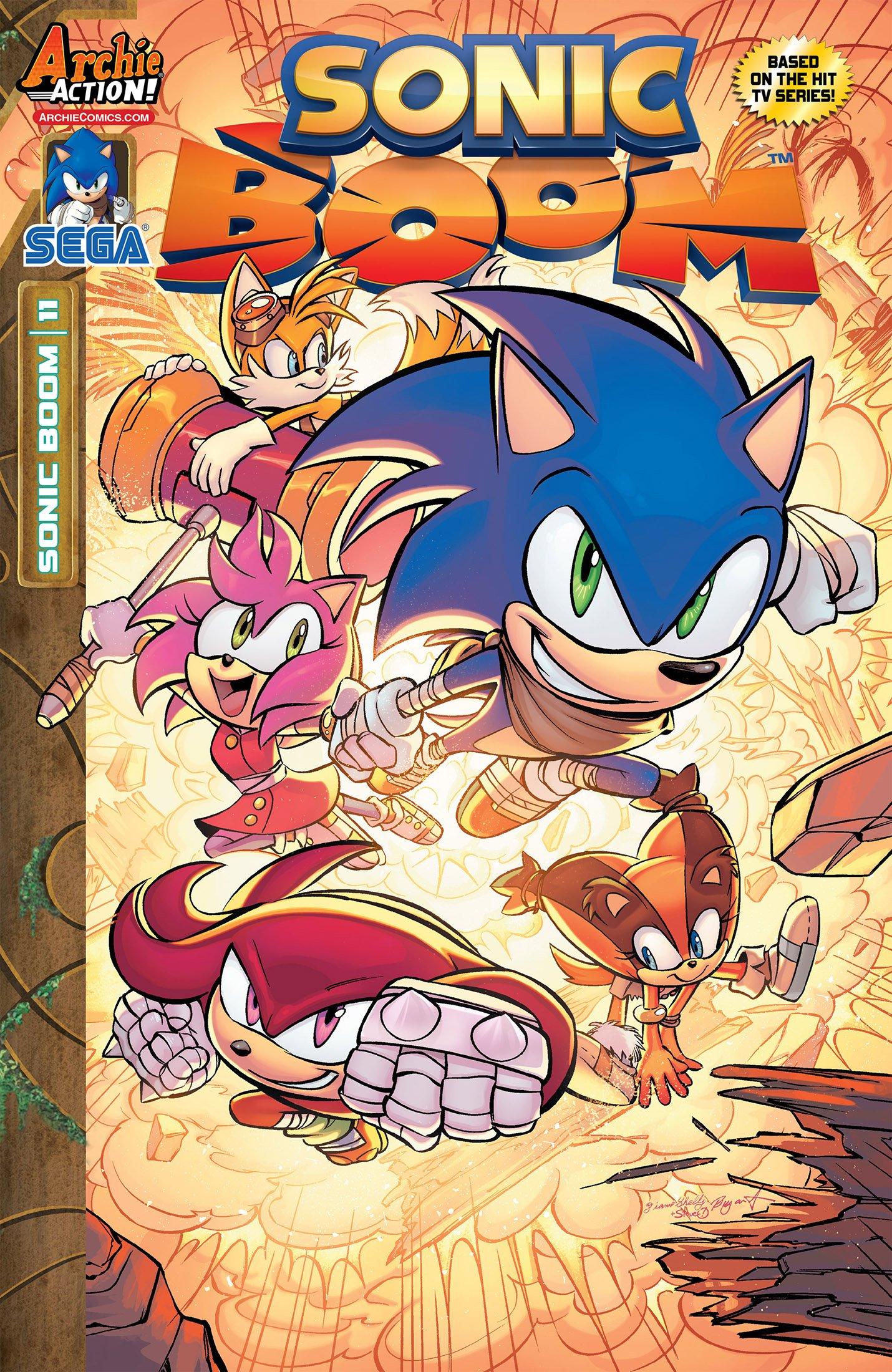 Sonic Boom 011 (October 2015)