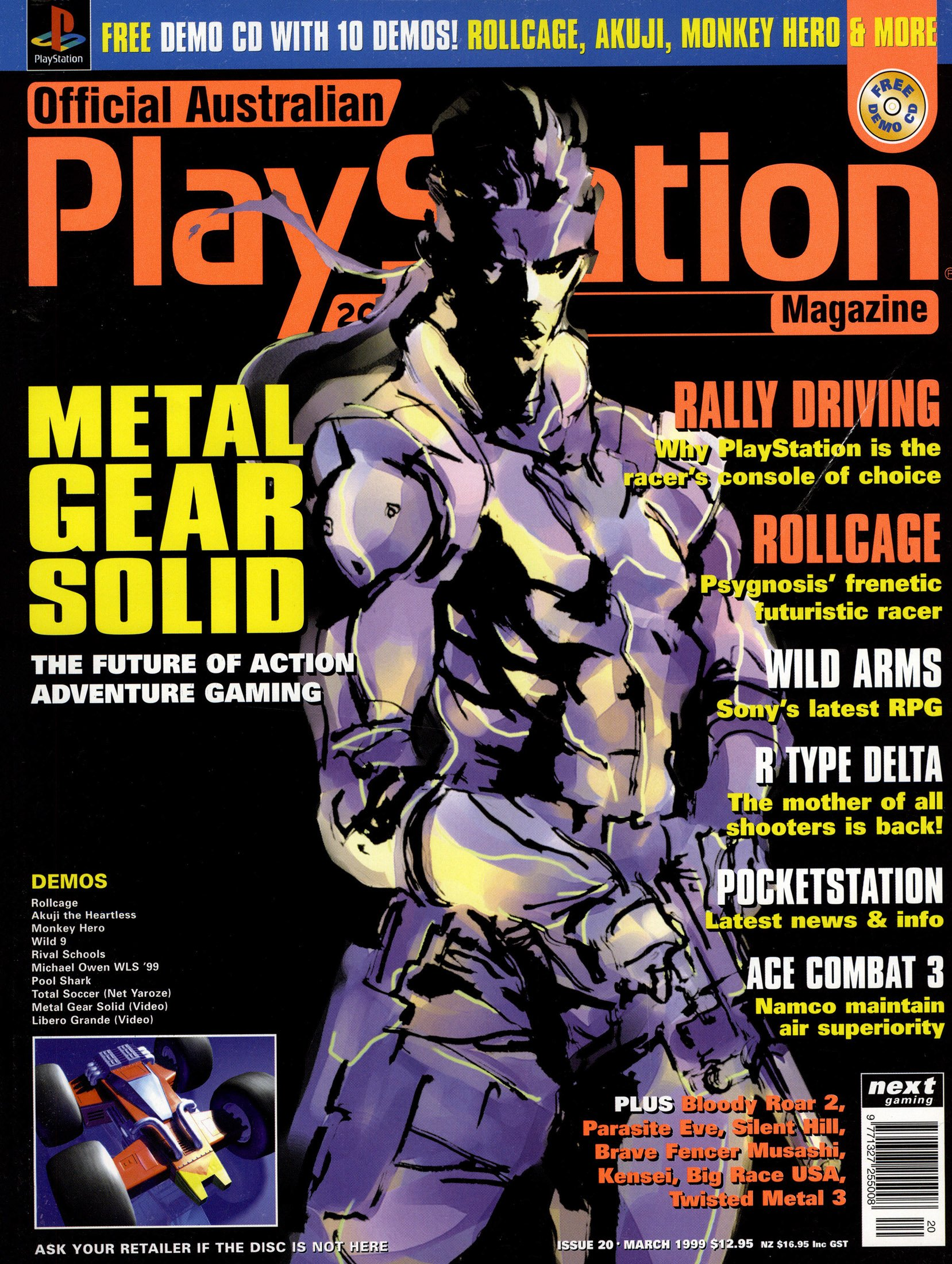 Official Australian PlayStation Magazine 020 (March 1999)