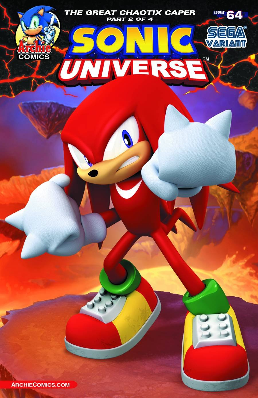 Sonic Universe 064 (July 2014) (Sega variant)