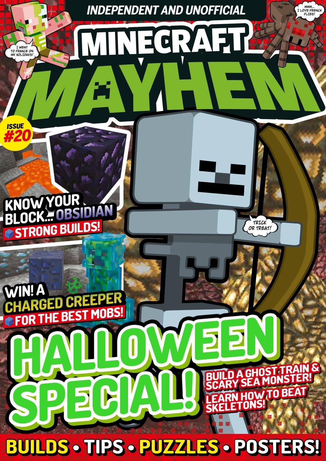Minecraft Mayhem Issue 20 (November 2017)