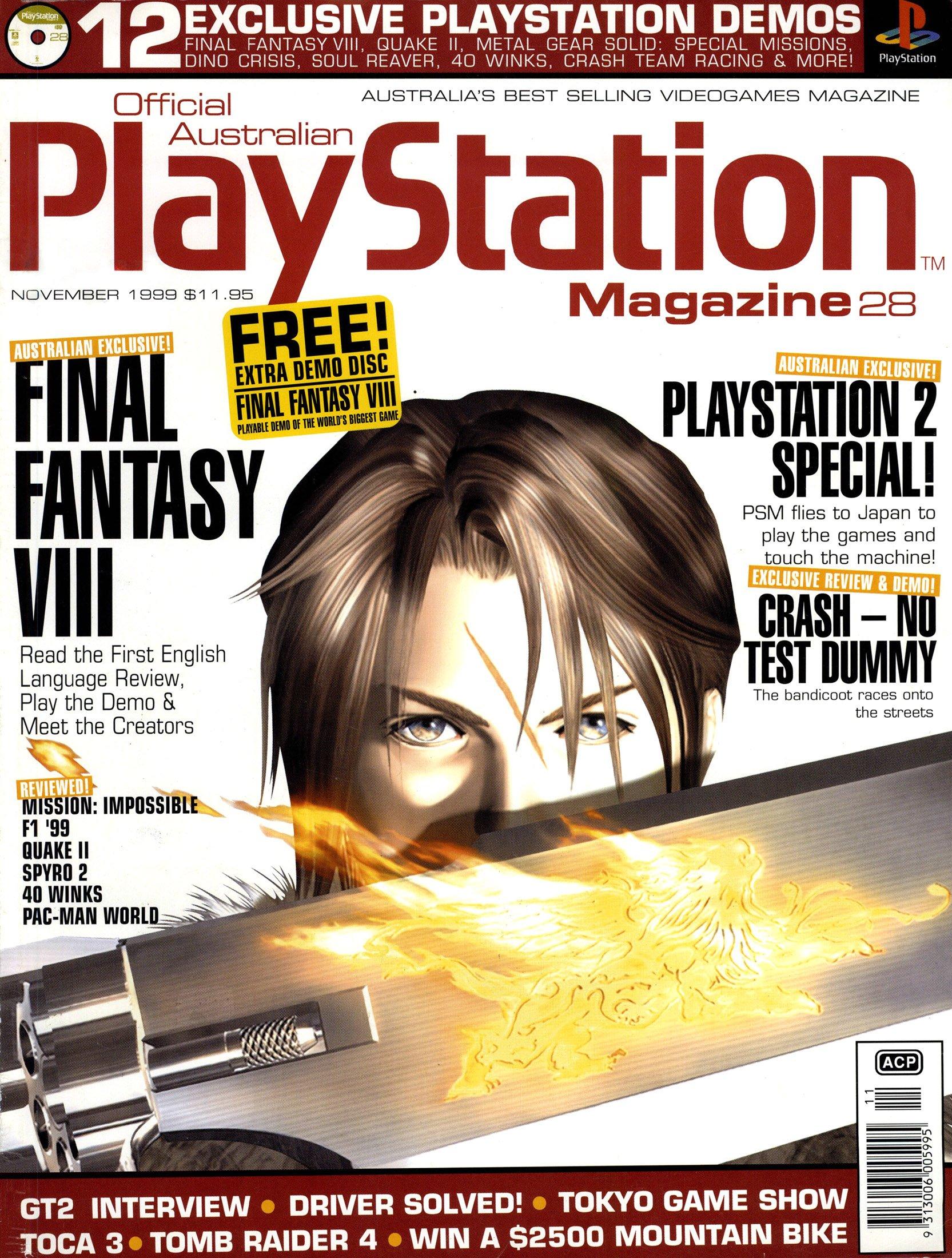 Official Australian PlayStation Magazine 028 (November 1999)