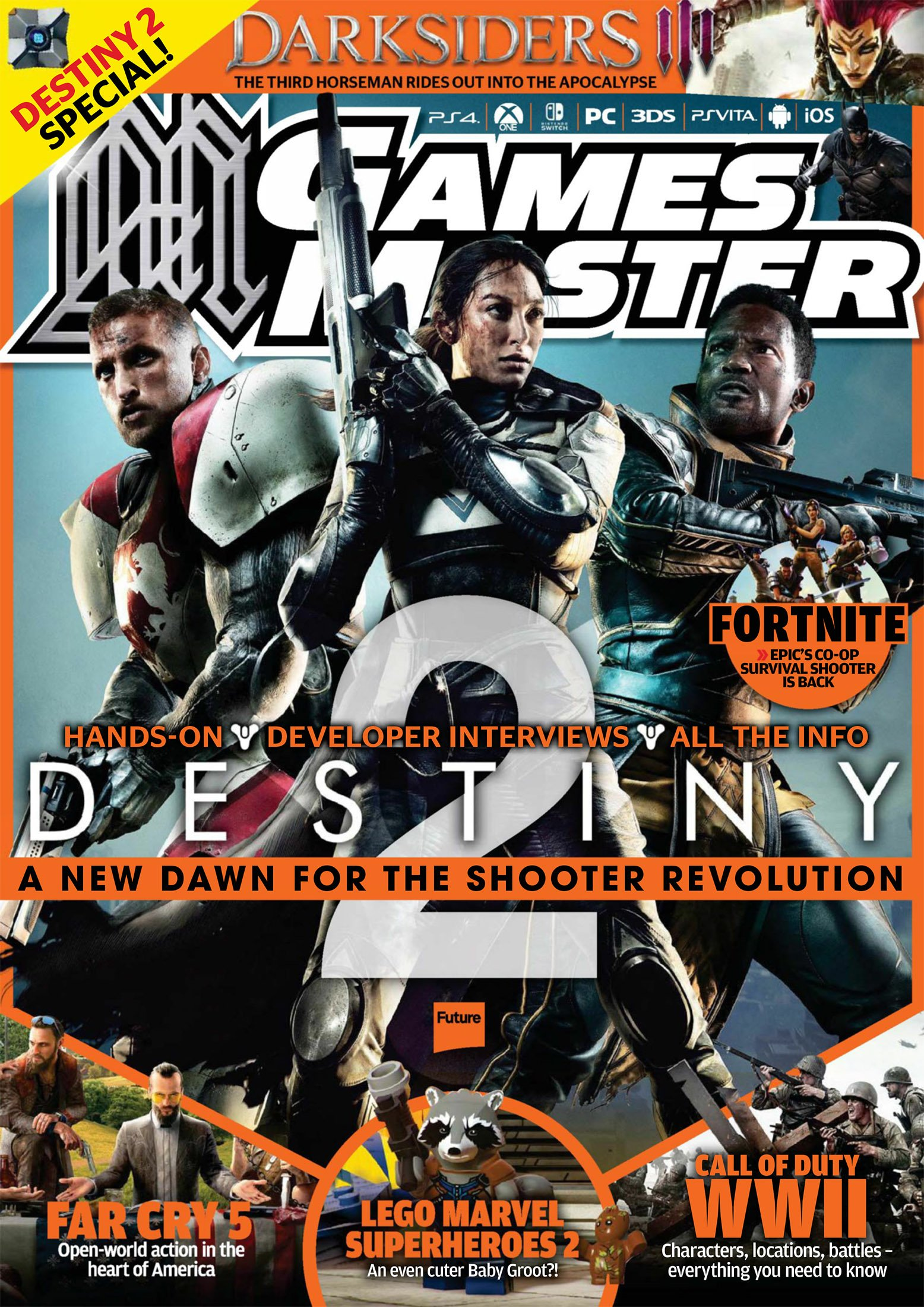 GamesMaster Issue 318 (July 2017)