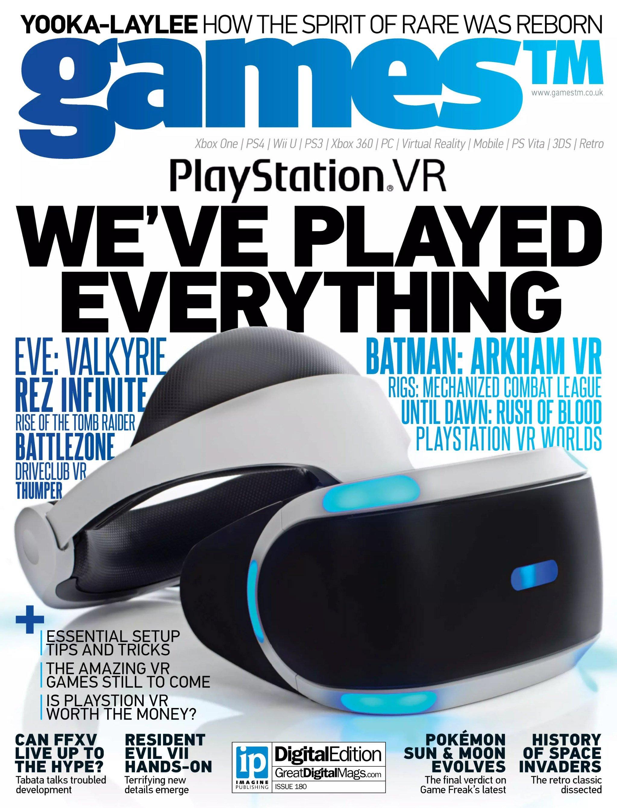 Games TM Issue 180 (November 2016)