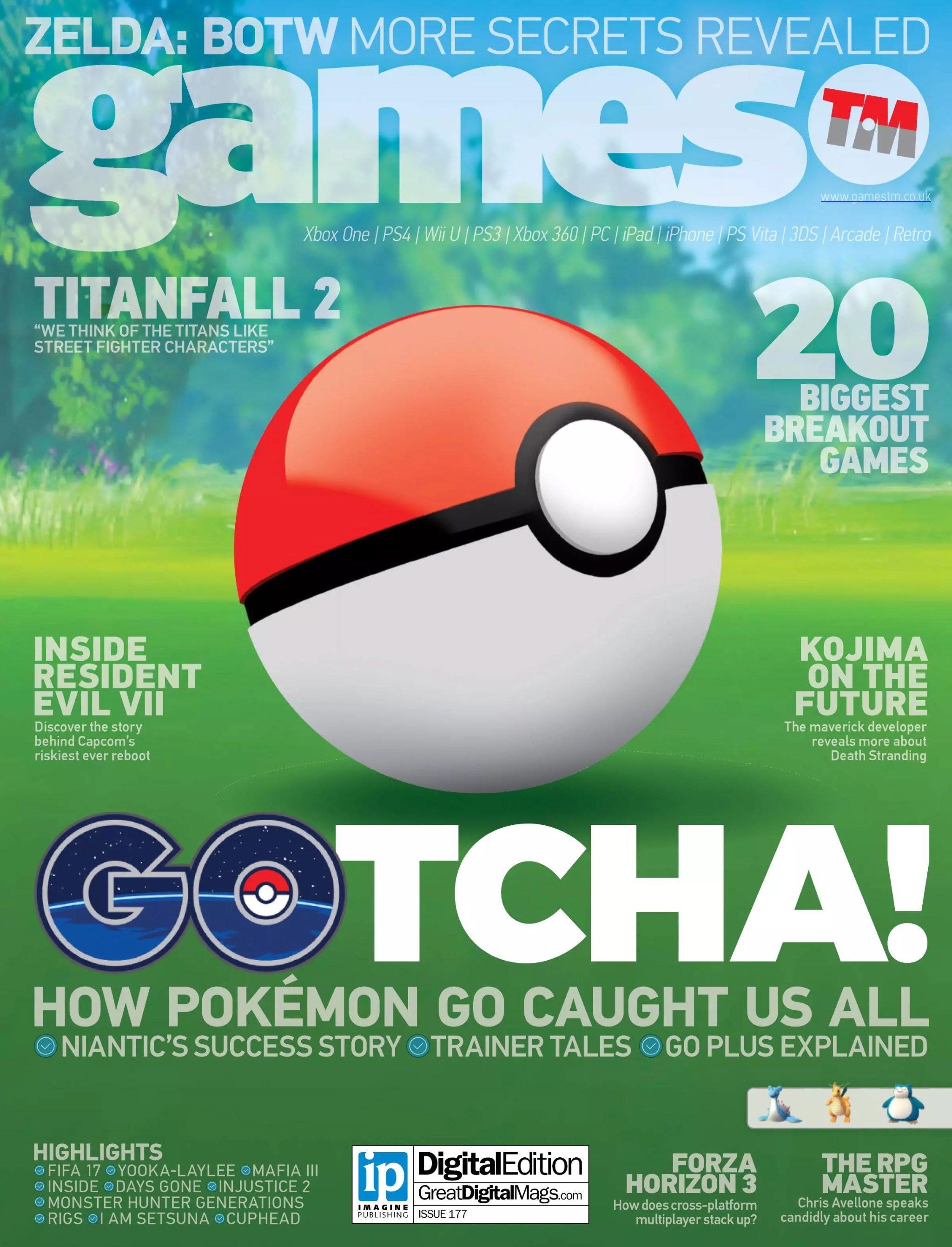 Games TM Issue 177 (August 2016)