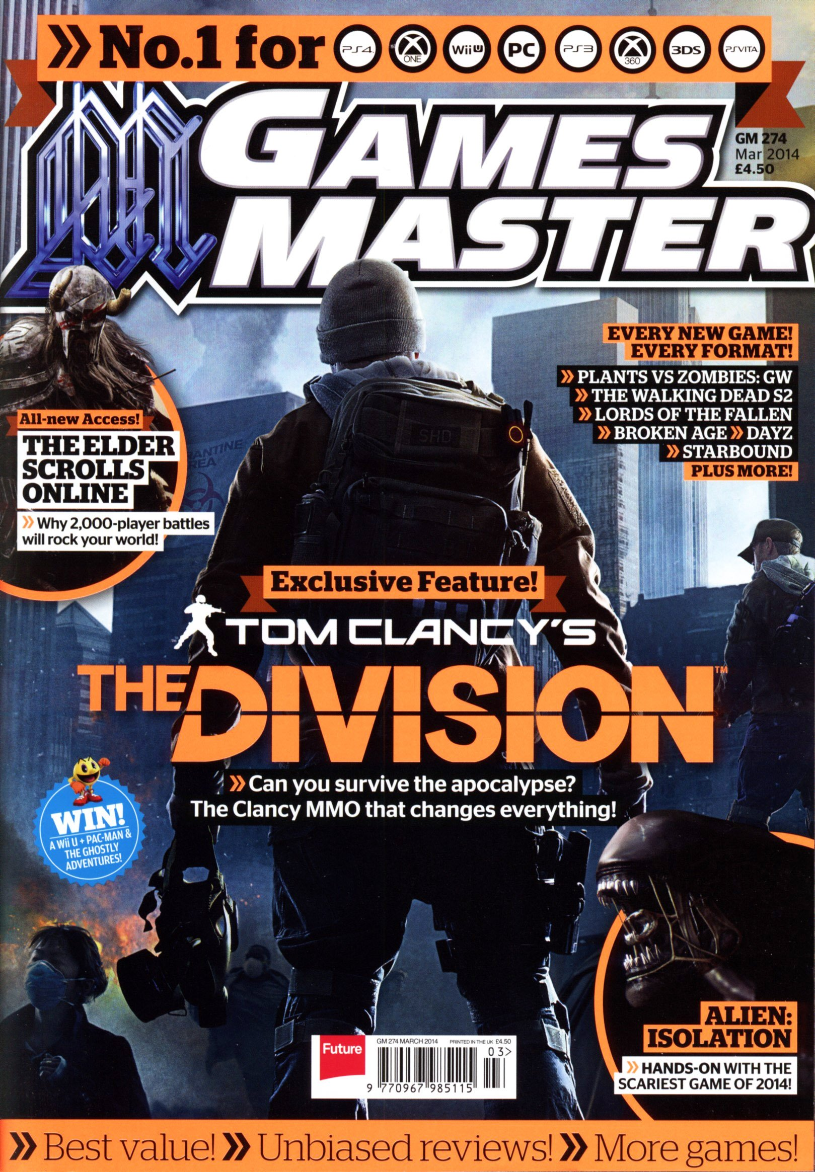 GamesMaster Issue 274 (March 2014) (print edition)