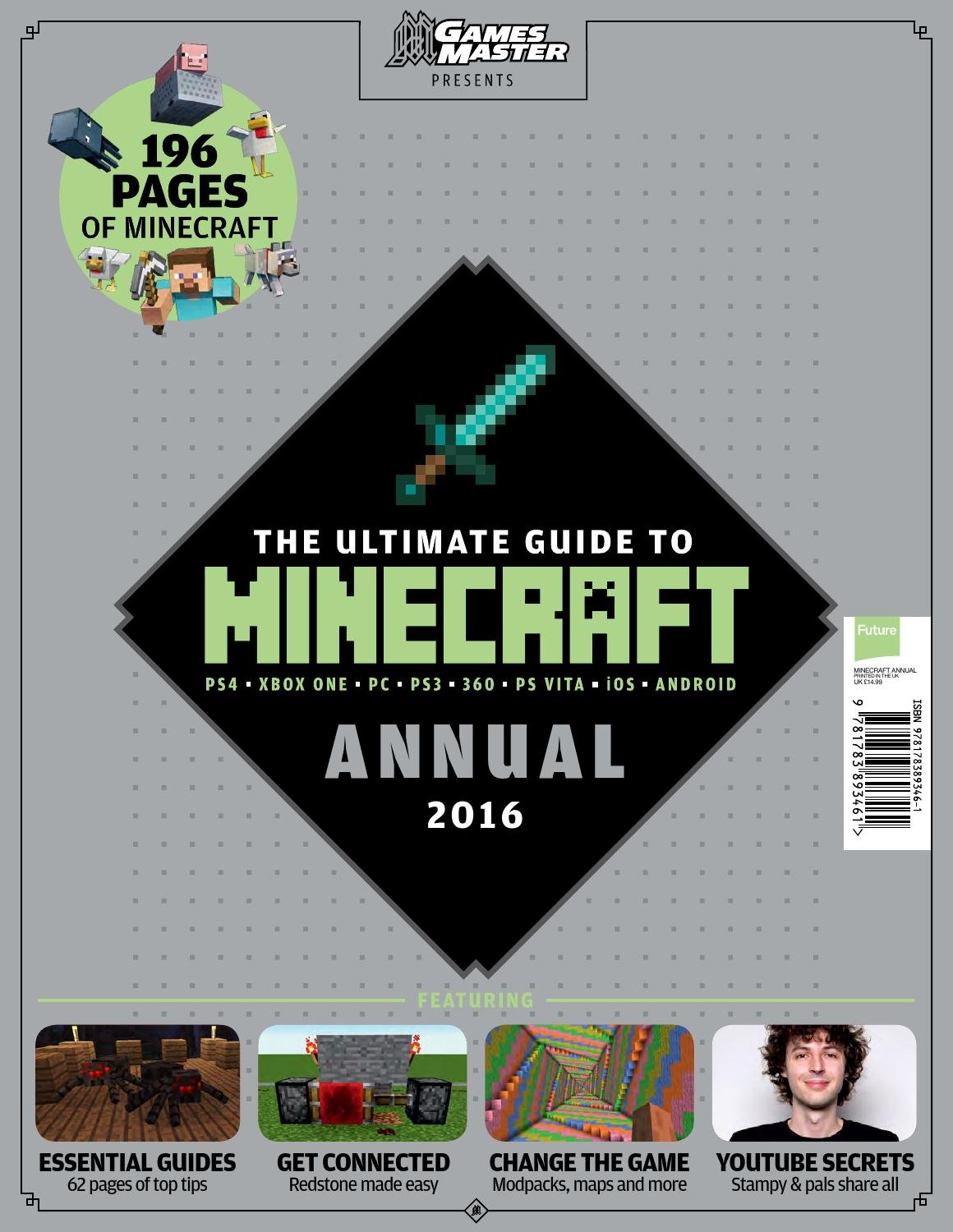 GamesMaster Presents: The Ultimate Guide to Minecraft Annual 2016