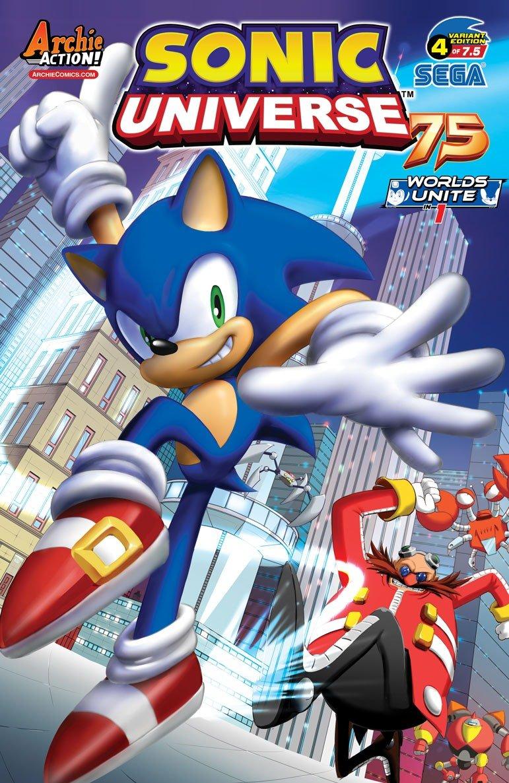 Sonic Universe 075 (June 2015) (variant 4)
