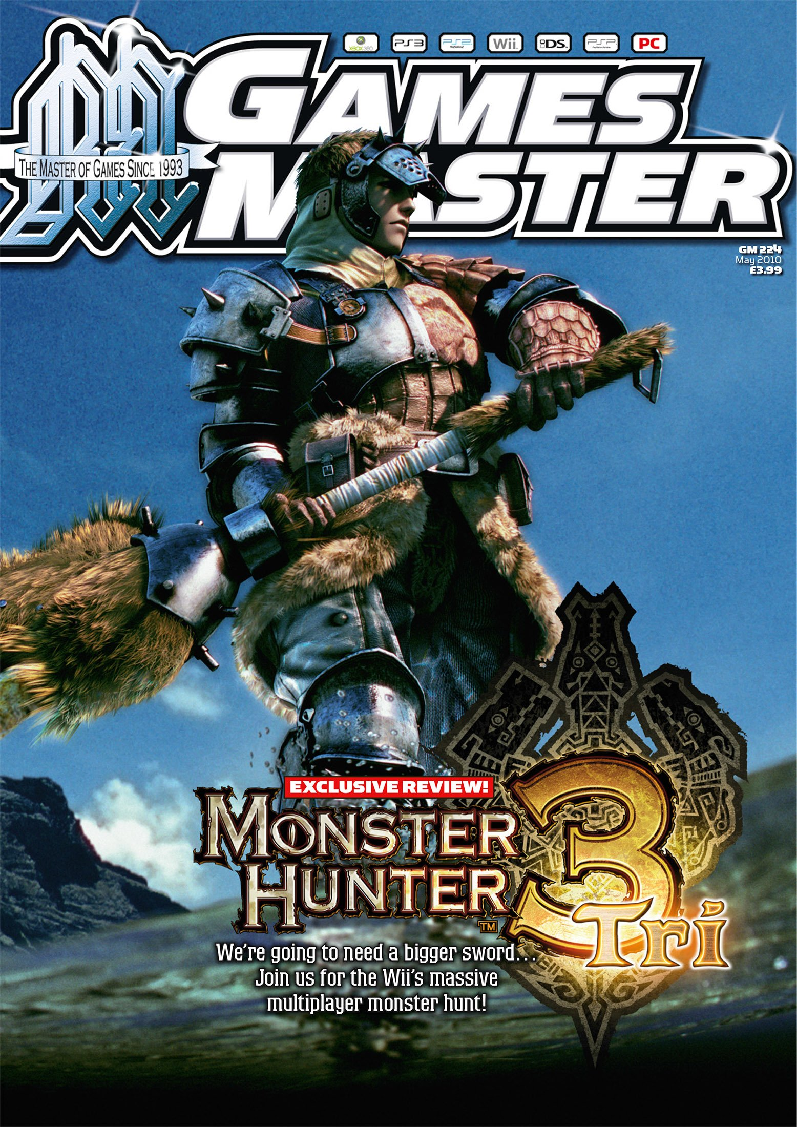 GamesMaster Issue 224 (May 2010)