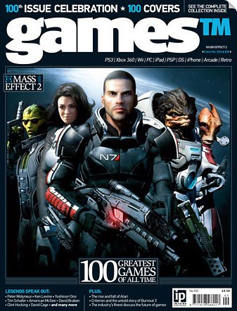 Games TM Issue 100 (September 2010) (cover 100)