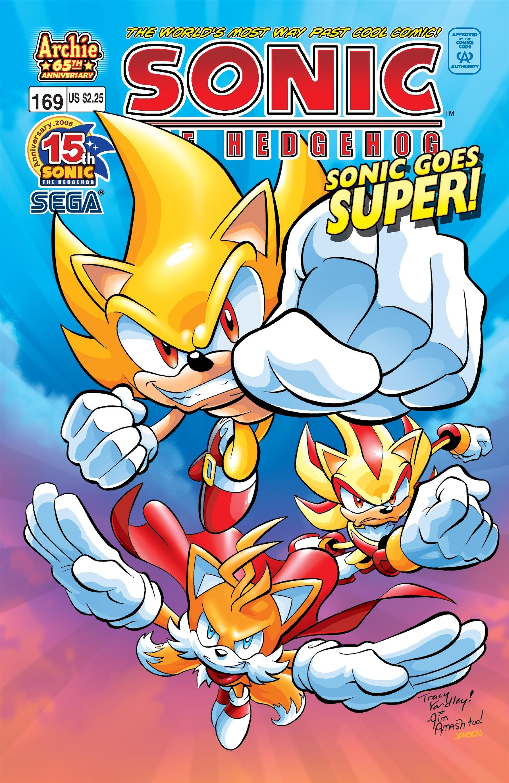 Sonic the Hedgehog 169 (January 2007)