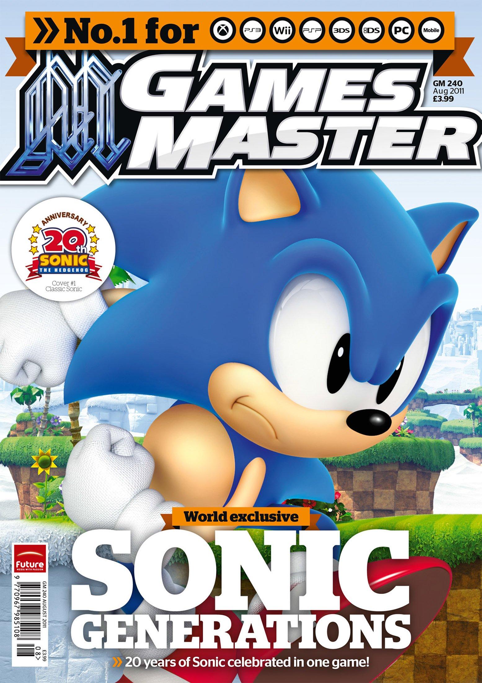 GamesMaster Issue 240 (August 2011)