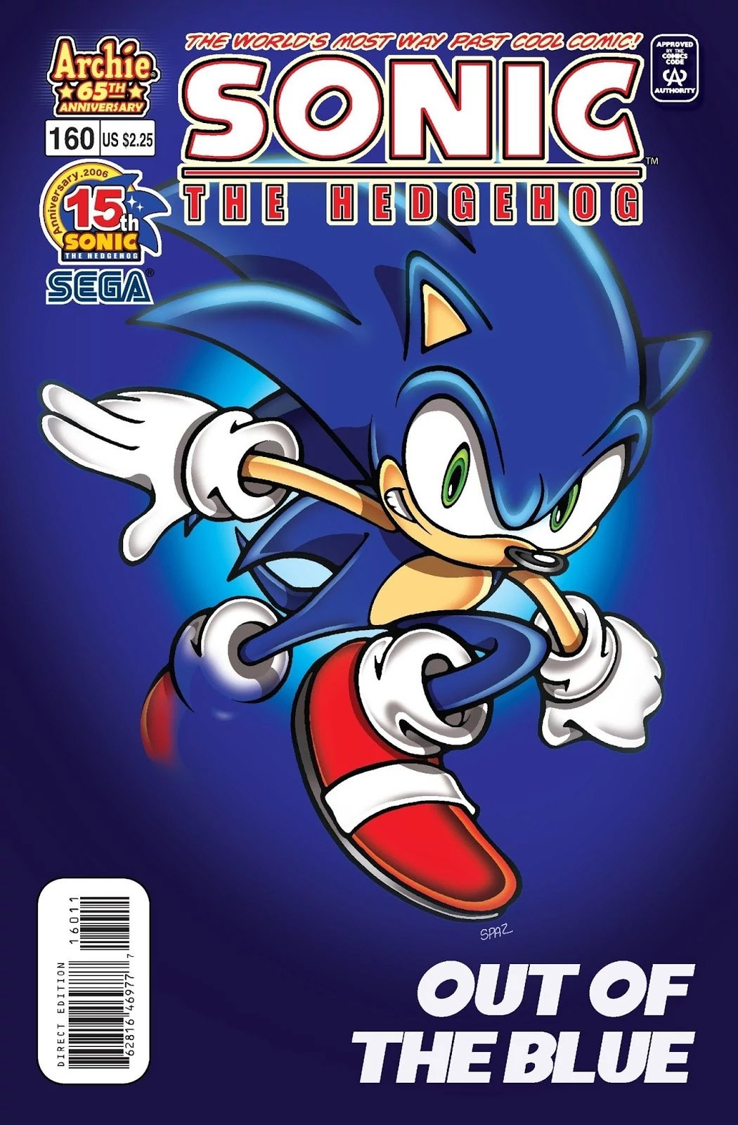 Sonic the Hedgehog 160 (May 2006)