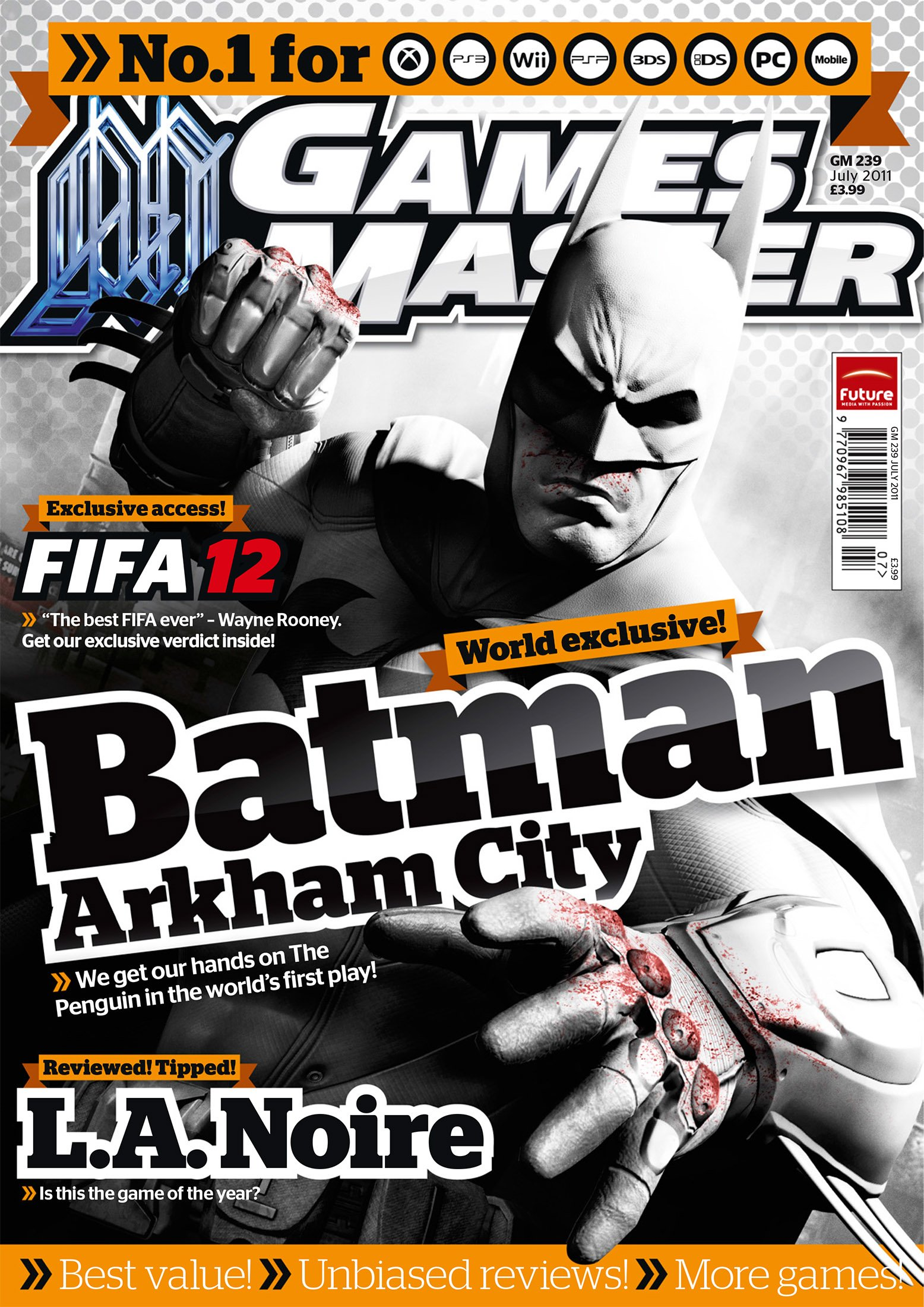 GamesMaster Issue 239 (July 2011)