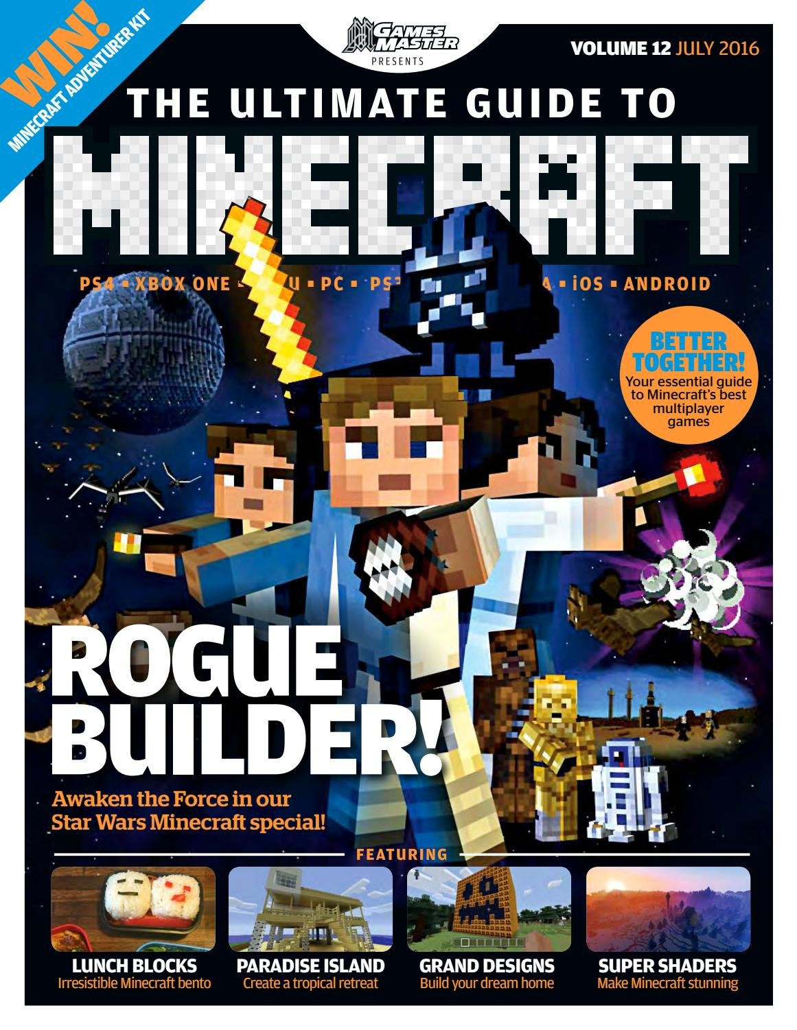 GamesMaster Presents: The Ultimate Guide to Minecraft Vol.12 (July 2016)