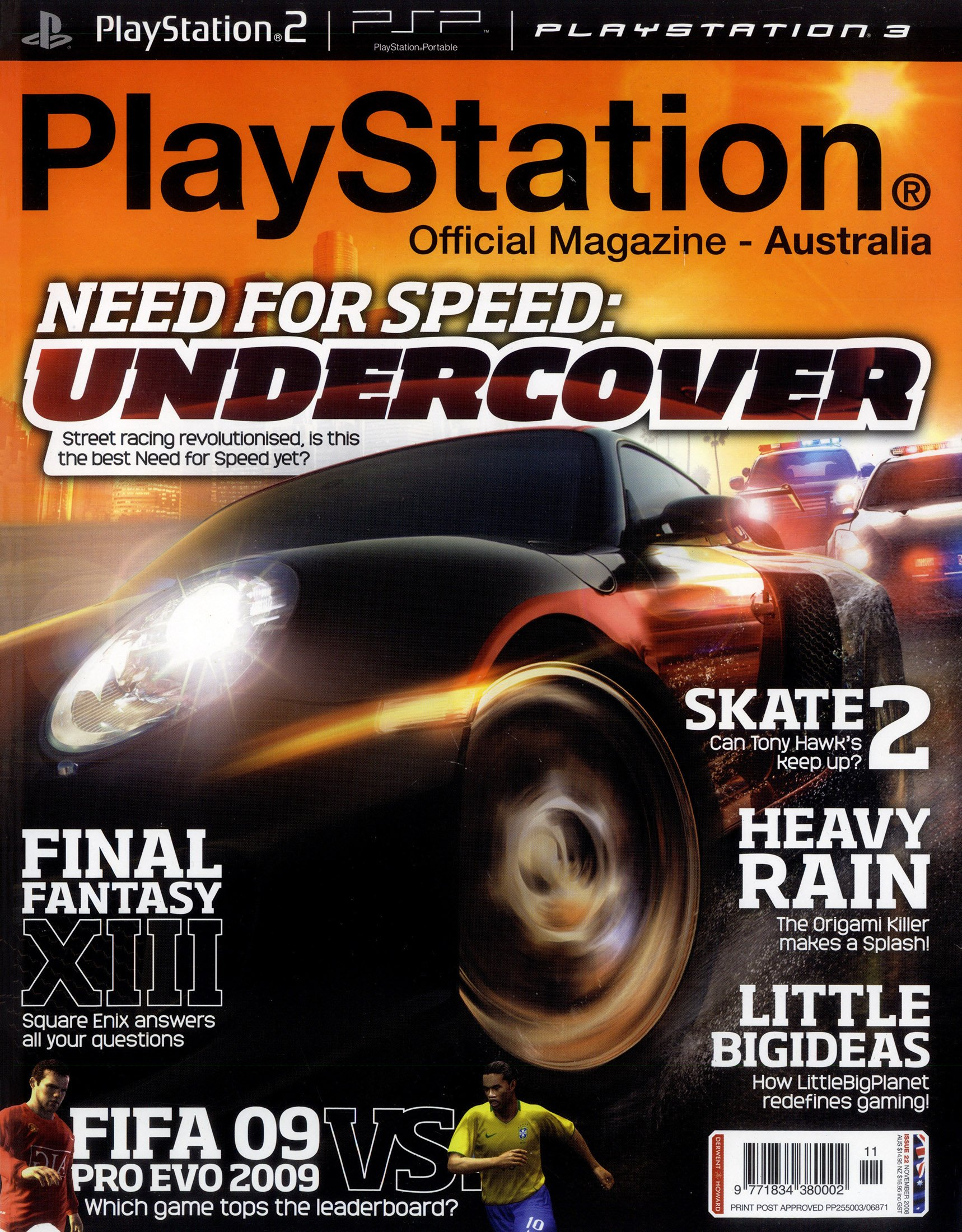 PlayStation Official Magazine Issue 022 (November 2008)